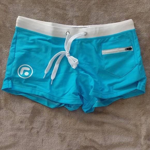 Taddlee Other - Taddlee Swim Trunks Briefs Brazilian Aqua Blue M